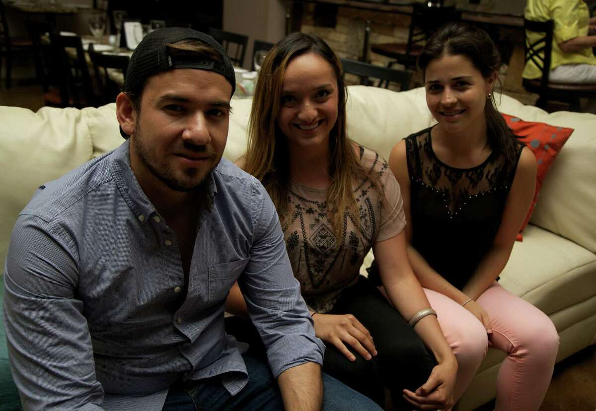 Joseph Delsol, Jordan Muzquiz and Gabriela Delsol