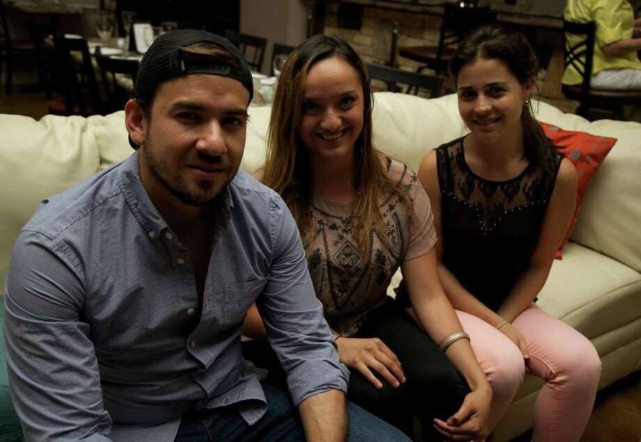 Joseph Delsol, Jordan Muzquiz and Gabriela Delsol Photo: Photos By Xelina Flores / For The Express-News / For the Express News