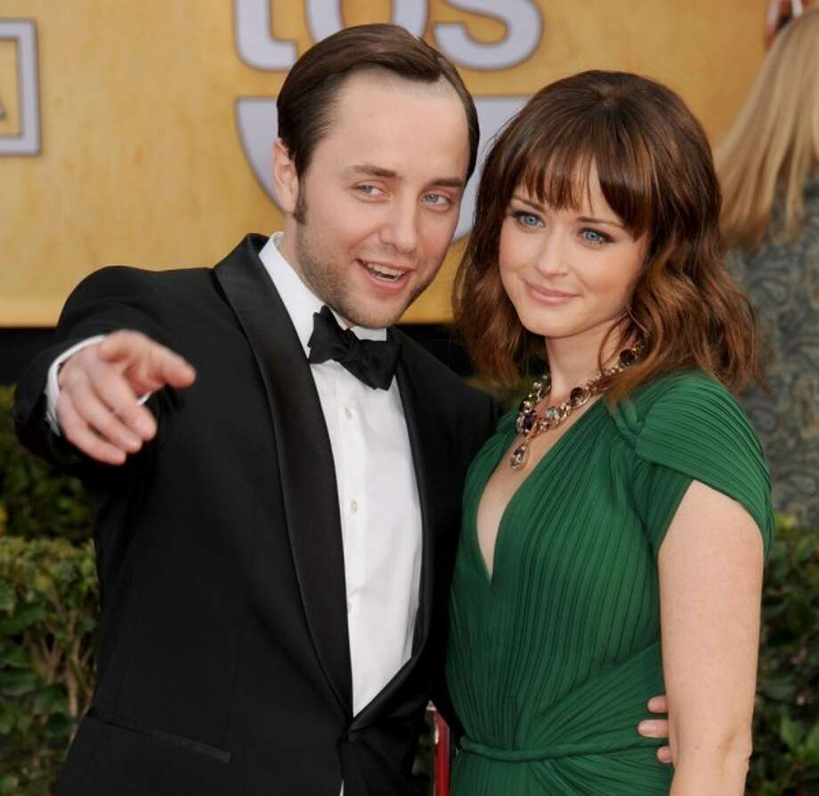 Surprise: 'Mad Men' co-stars Alexis Bledel and Vincent Kartheiser said 'I do'... in June. The cat just got out of the bag about the couple, who wed in a secret ceremony in California.These two, who met on set, aren't the only dynamic Hollywood duos to 