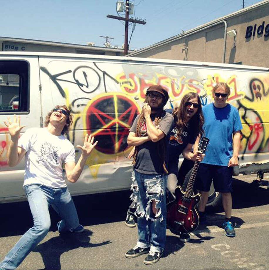 Keith Morris (second from left) and his band OFF! will perform Friday at Korova, 107 E. Martin St. Photo: Courtesy Dimitri Coats