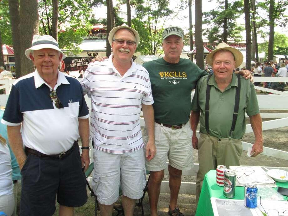 Were you Seen at Irish-American Day, part of the weekly International Heritage Series at Saratoga Race Course in Saratoga Springs on Wednesday, August 6, 2014? Photo: Lauren Lasky