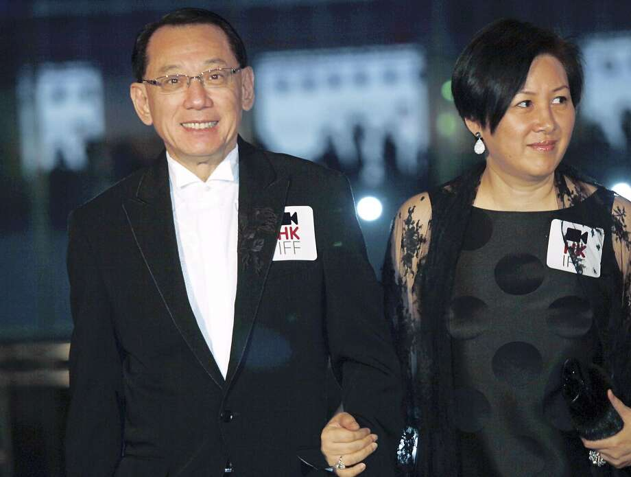 Albert Yeung and his wife attend a film premiere in 2009. His suit against Google can proceed. Photo: Vincent Yu, Associated Press