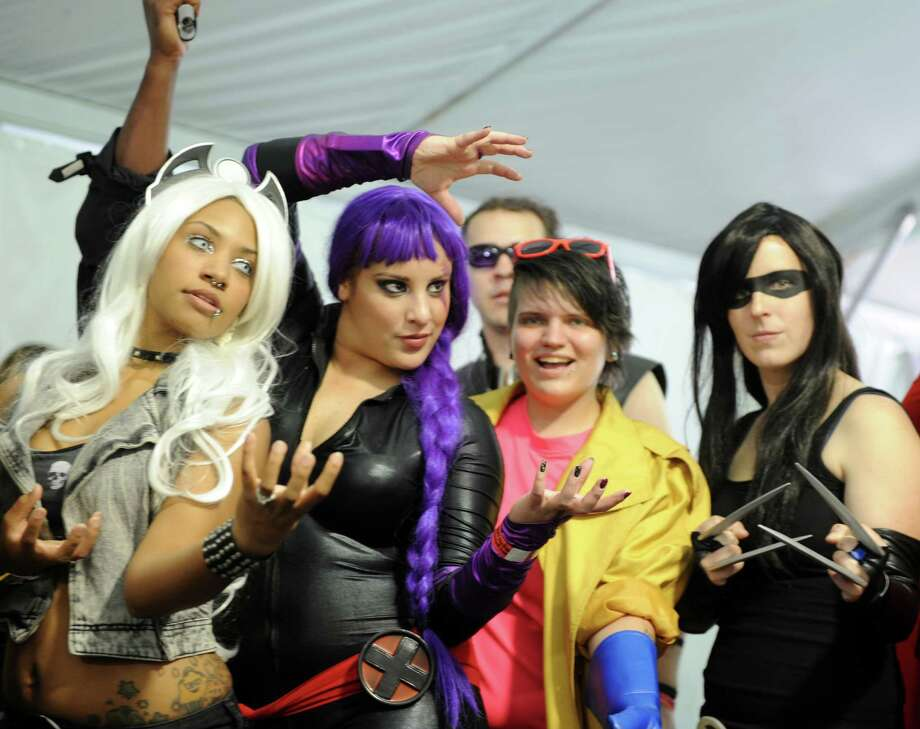 ComiCONN moves to Bridgeport's Webster Bank Arena this year for three full days of TV and movie actors, comic book writers and illustrators, cosplayers, costume and trivia contests and hundreds of tables of collectibles. Photo: Autumn Driscoll / Connecticut Post