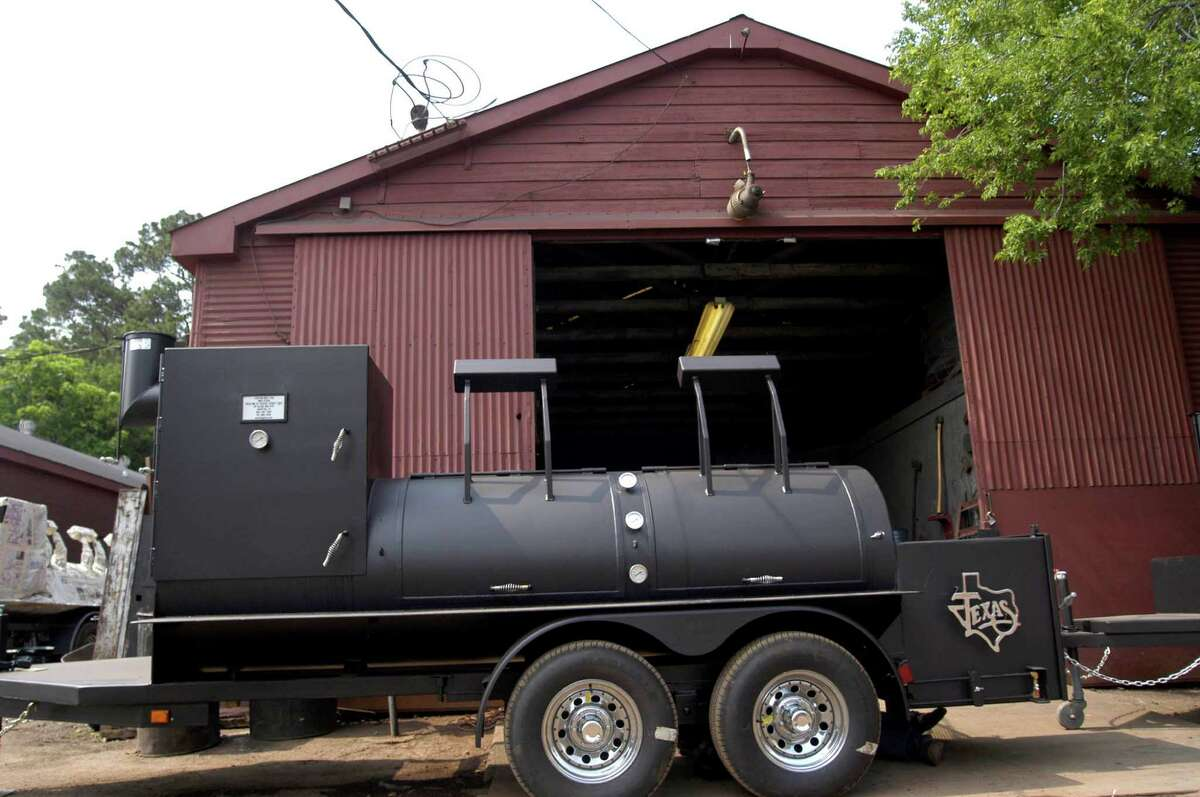 A BBQ Pit by Klose comes fitted on a trailer to travel from place to place. David Klose has been making barbecues for more than 12 years and sells his handmade grills around the world from $60 to $500,000. The average grill weighs from 600 to 1,000 pounds.
