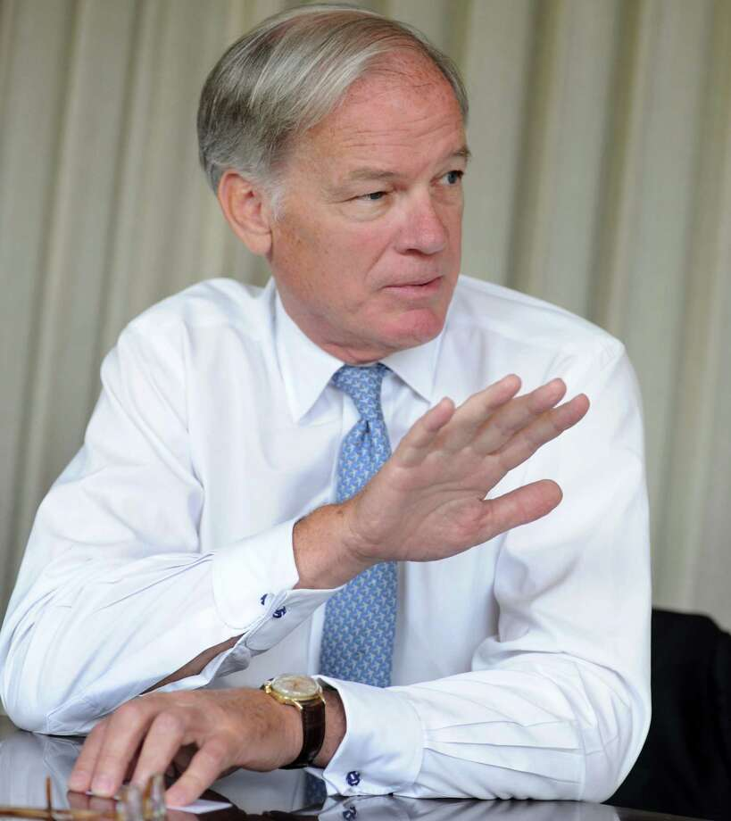 Tom Foley,  republican candidate for governor of Connecticut meets with the Hearst Connecticut editorial board on Wednesday, Aug. 6, 2014. Photo: Cathy Zuraw / Connecticut Post