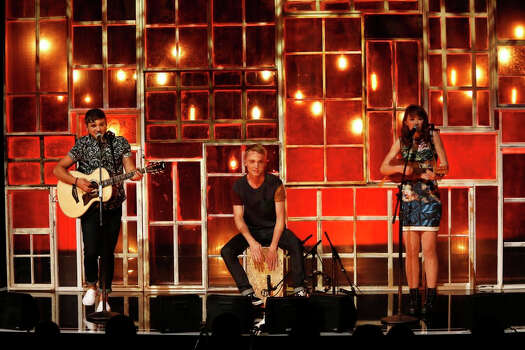 AMERICA'S GOT TALENT -- Episode 912 -- Pictured: Livy, Matt, & Sammy -- (Photo by: Eric Liebowitz/NBC) Photo: NBC, Eric Liebowitz/NBC / 2014 NBCUniversal Media, LLC.