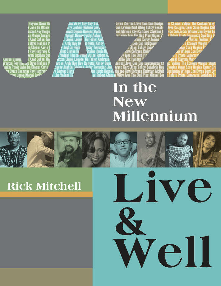 Front cover of Jazz in the New Millennium, a book by Rick Mitchell Photo: Dharma Moon Press
