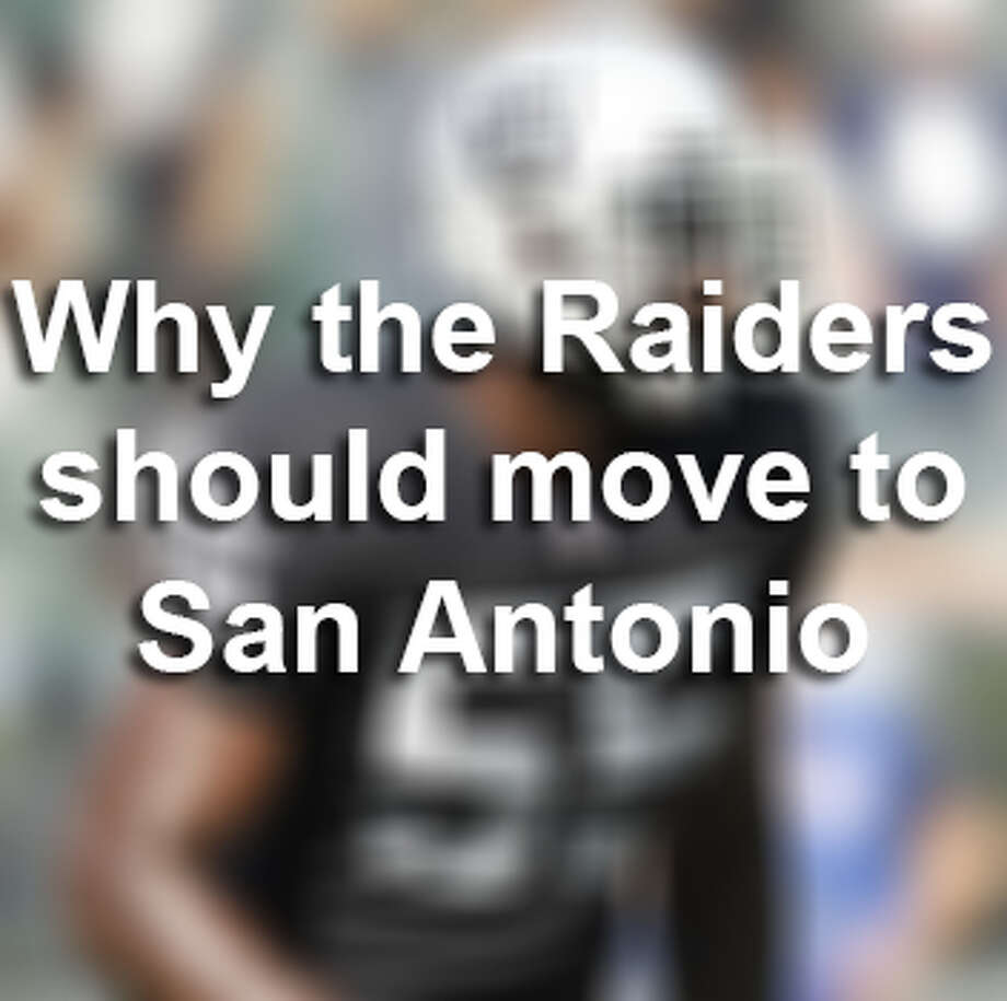 The Oakland Raiders have spoken with top city officials about moving the historic franchise to the Alamo City. Here are 9 reasons why the Raiders should come to San Antonio.