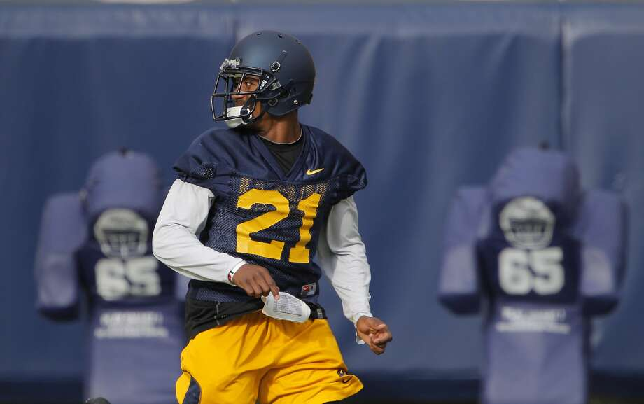 Safety Stefan McClure is back in Cal's starting lineup after recovering from offseason quad surgery. Photo: Carlos Avila Gonzalez, The Chronicle