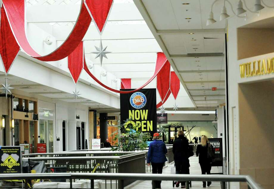 Holiday decorations adorn the walkways on Saturday, Nov. 2, 2013, at Crossgates Mall in Guilderland, N.Y. (Cindy Schultz / Times Union archive) Photo: Cindy Schultz / 00024498A