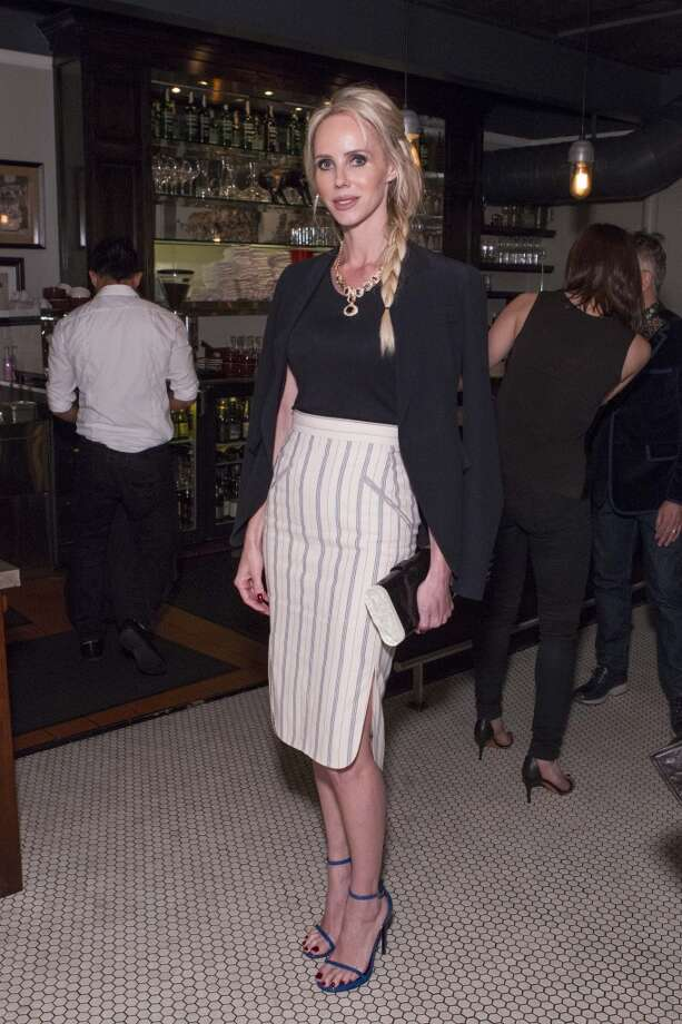 She made the list, and this  pencil skirt is the ultimate in city chic. Vanessa Getty at a dinner held for Mary Kate and Ashley Olsen's The Row, hosted by Barneys, on March 18. Photo: Claudine Gossett, Drew Altizer