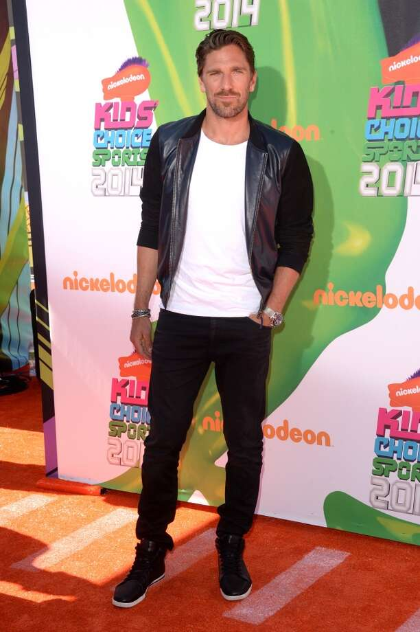 Made the VF list! LOS ANGELES, CA - JULY 17:  NHL player Henrik Lundqvist attends Nickelodeon Kids' Choice Sports Awards 2014 at UCLA's Pauley Pavilion on July 17, 2014 in Los Angeles, California.  (Photo by Jason Merritt/Getty Images) Photo: Jason Merritt, Getty Images