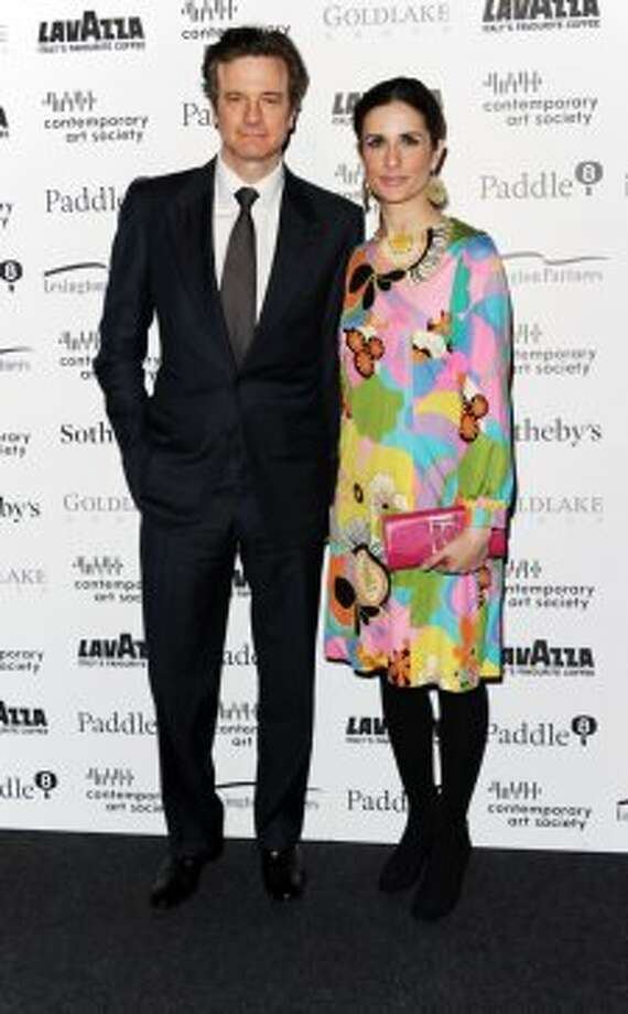 This couple made the VF list! Colin Firth and Livia Firth arrive for the Contemporary Art Society Fundraising Gala at Tobacco Dock on March 11, 2014 in London, England.  (Photo by Stuart C. Wilson/Getty Images) Photo: Stuart C. Wilson, Getty Images
