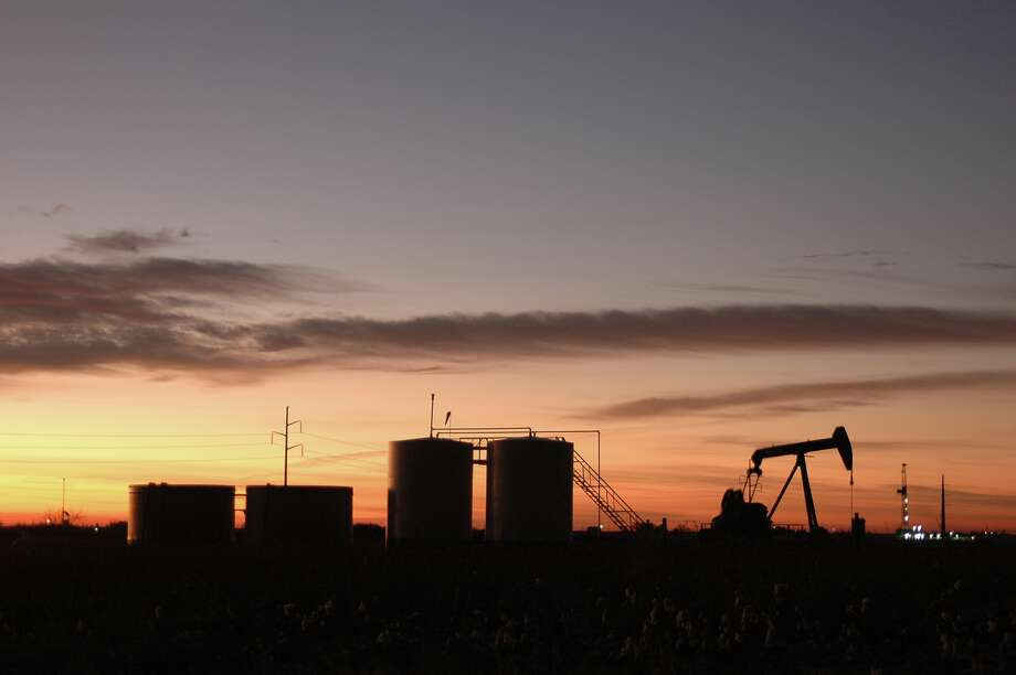 The Permian Basin has many pumping and storage operations. The outlook is sunny for oil production. Photo: Sands Weems