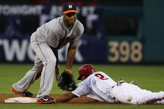 August 6: Phillies 10, Astros 3  Brad Peacock got tagged early and often by the Phillies as the Astros lost their second straight game in the interleague series in Philadelphia.  Record: 47-67. Photo: Matt Slocum, Associated Press