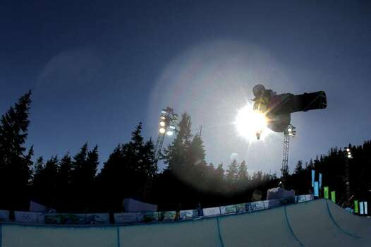 VANCOUVER, BC - FEBRUARY 18:  Gretchen Bleiler of the United States competes in the Snowboard Women's Halfpipe on day seven of the Vancouver 2010 Winter Olympics at Cypress Snowboard & Ski-Cross Stadium on February 18, 2010 in Vancouver, Canada.  (Photo by Streeter Lecka/Getty Images) *** Local Caption *** Gretchen Bleiler Photo: Streeter Lecka, Getty Images / 2010 Getty Images