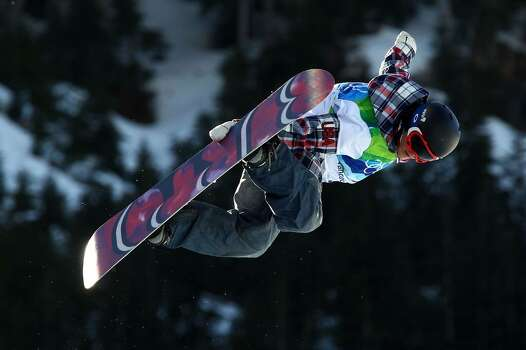 VANCOUVER, BC - FEBRUARY 18:  Elena Hight of The United States competes in the women's snowboard halfpipe qualification on day seven of the Vancouver 2010 Winter Olympics at Cypress Snowboard & Ski-Cross Stadium on February 18, 2010 in Vancouver, Canada.  (Photo by Alex Livesey/Getty Images) *** Local Caption *** Elena Hight Photo: Alex Livesey, Getty Images / 2010 Getty Images