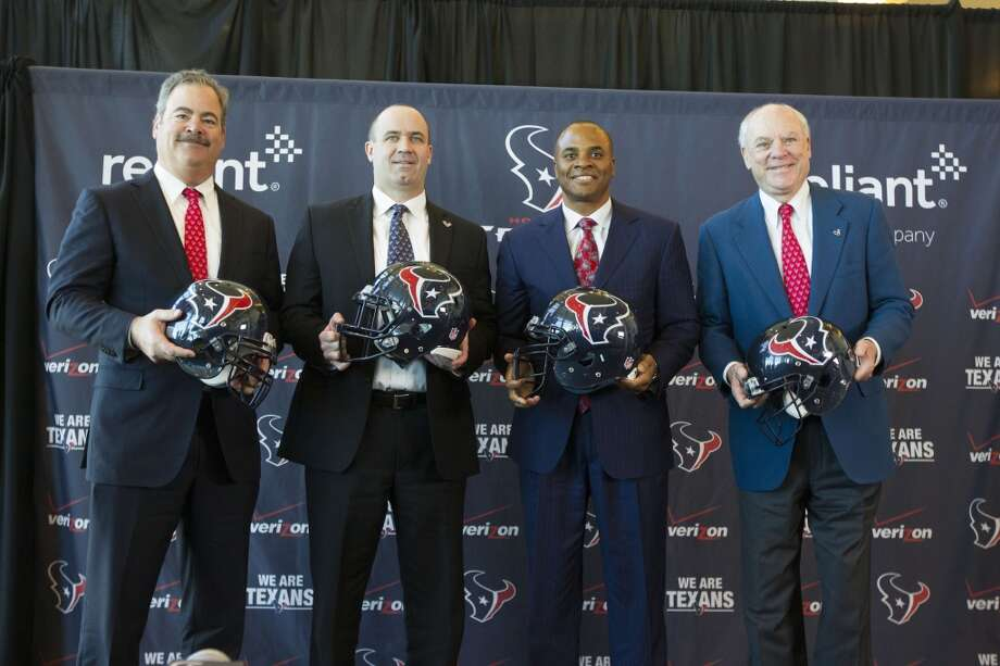 The Texans brass were able to negotiate with other teams' free agents beginning Monday morning, but can't sign anyone until Wednesday afternoon.Click through the gallery to see this year's top unrestricted free agents. Photo: Patric Schneider, Associated Press