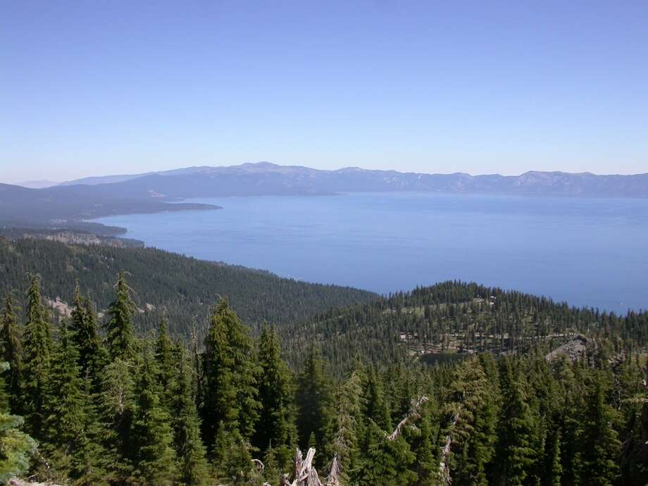 View of north Lake Tahoe from 8,740-foot Ellis Peak Photo: Tom Stienstra, The Chronicle