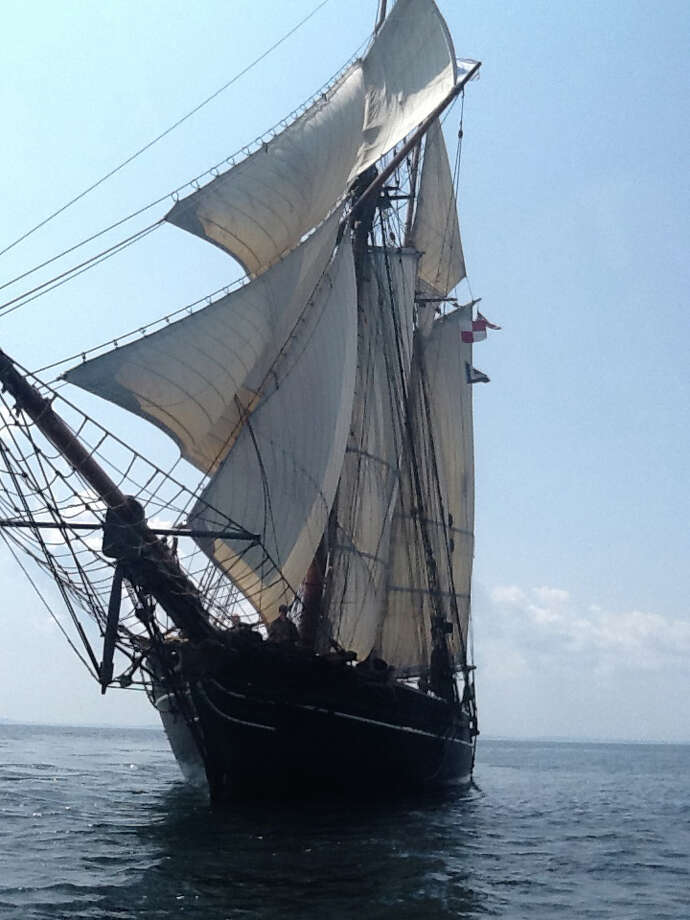 THe Freedom Schooner Amistad will sail into Captain's Cove Seaport in Bridgeport, Conn., Saturday and Sunday, Aug. 16 to 17. Take tours of the ship for free; tickets for harbor sails are available, too. For more information, visit www.amistadvoyages.org. Photo: Contributed Photo / Stamford Advocate Contributed photo