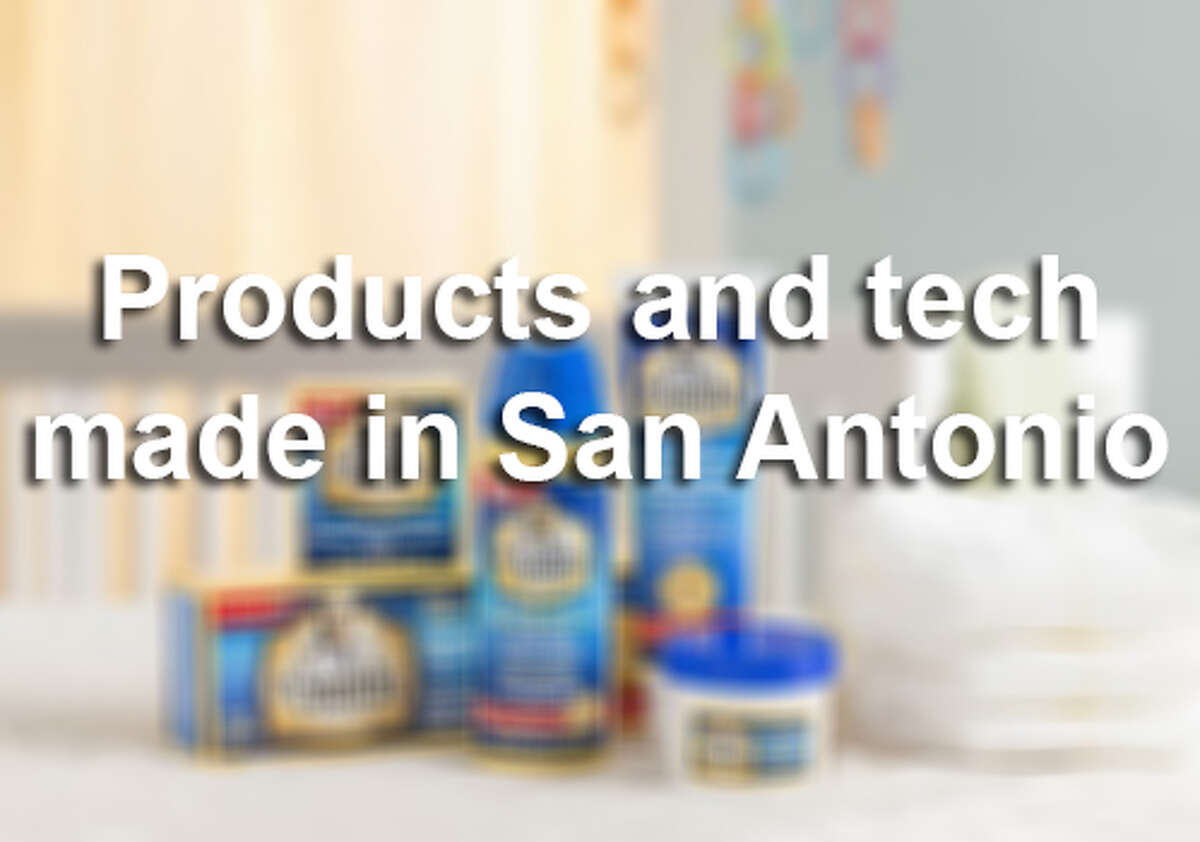 Click through the gallery to see some of the products and technology that are manufactured in the Alamo City and sold nationally and worldwide.