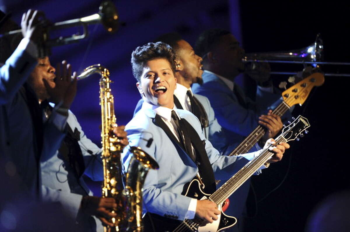Bruno Mars radiates youthfulness at 27. Bruno could easily be mistaken for someone a decade younger.