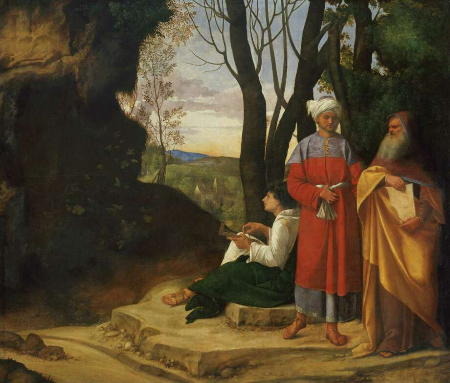 """Three Philosophers"" by Giorgione will go on display in ""Habsburg Splendor: Masterpieces from Vienna's Imperial Collections"" at the Museum of Fine Arts, Houston. Photo: Kunsthistorisches Museum, Vienna / ONLINE_YES"