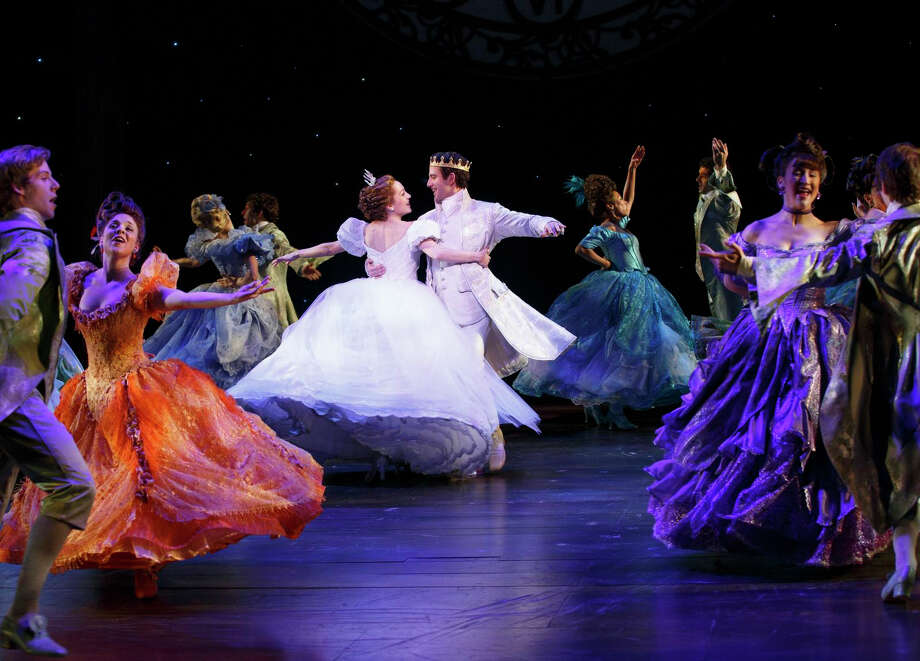 """Theatre Under The Stars will host the national tour of Rodgers and Hammerstein's """"Cinderella."""" Laura Osnes, Santino Fontana led the original Broadway cast."""