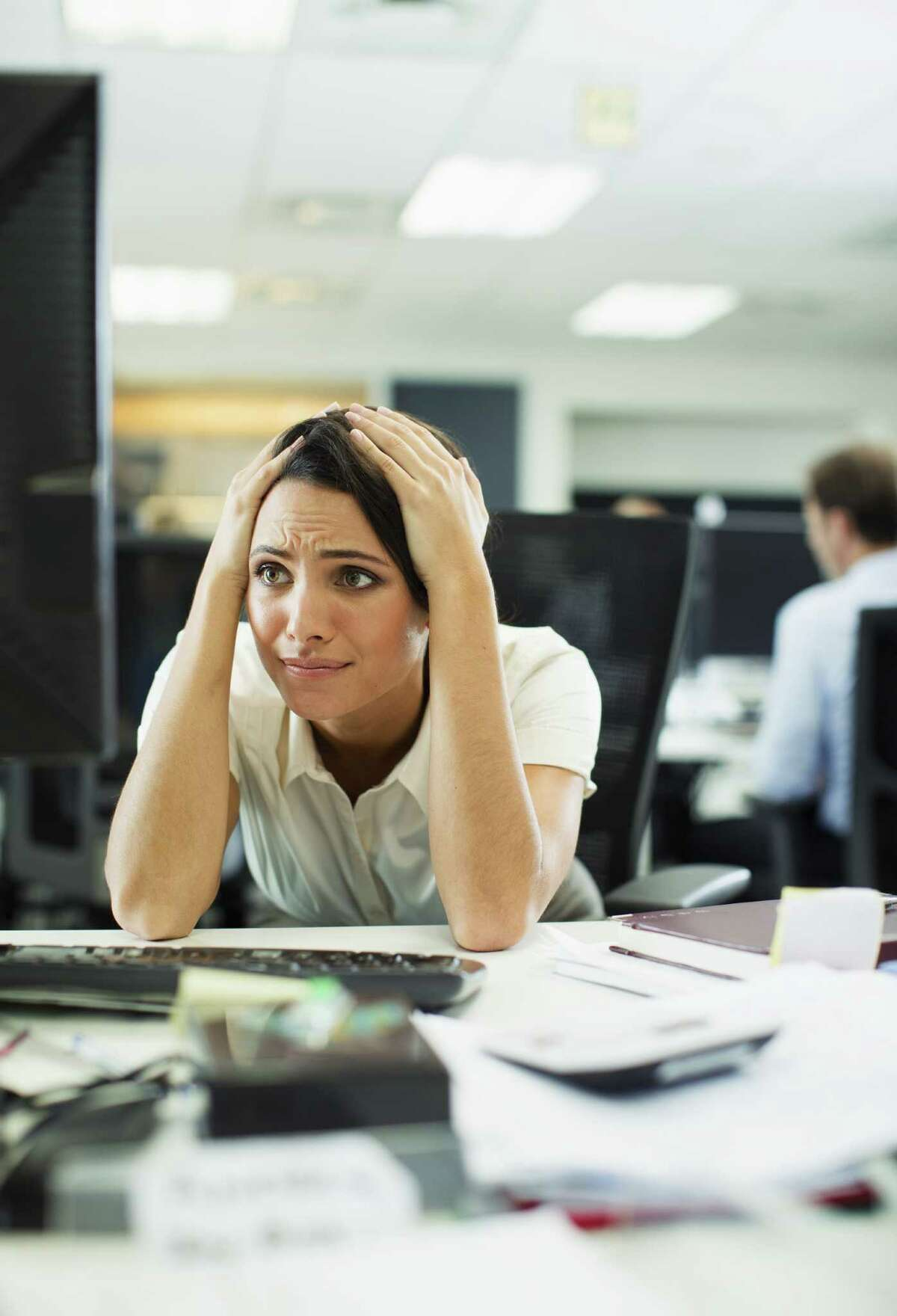 Workplace unhappiness is, of course, a very serious thing... in the sense that it might minutely dampen the profit margin of Our Employer. A quarter of those surveyed said their soul-crushing, unbearable, work-related ennui made them a