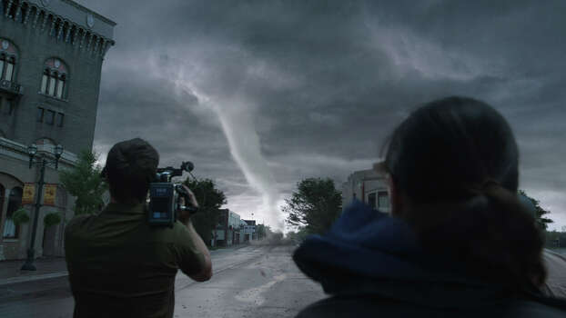 """Into the Storm"" IMDb: 6.2/10Rotten Tomatoes: 13 percentReview by Mick LaSalle: Special effects whip 'Storm' into a frenzy3.5 starsMaybe someday, in the distant future, the special-effects technology in ""Into the Storm"" will look fake and make audiences snicker. But today, it's hard to imagine any movie ever topping this one's depiction of killer tornadoes laying waste to the Midwest. Photo: Courtesy Of Warner Bros. Picture / © 2013 Warner Bros. Entertainment Inc."