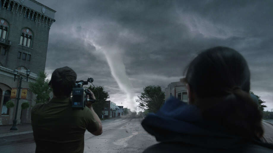 """Into the Storm"" relies on amazing special-effects technology to depict killer tornadoes. Photo: Courtesy Of Warner Bros. Picture / © 2013 Warner Bros. Entertainment Inc."