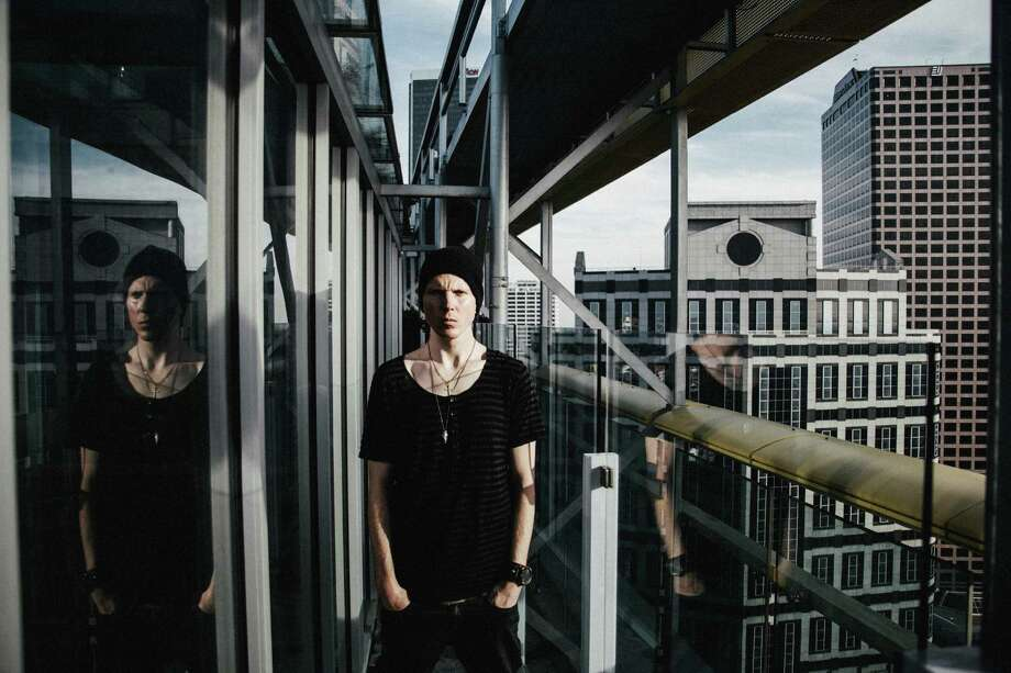 """""""Sometimes you just have to break through and find that inspiration when it would be easier just to eat cookies and go to bed,"""" Manafest says. Photo: BEC Recordings"""
