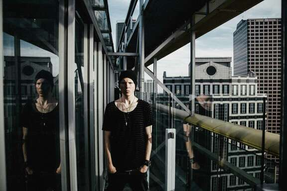 """""""Sometimes you just have to break through and find that inspiration when it would be easier just to eat cookies and go to bed,"""" Manafest says."""