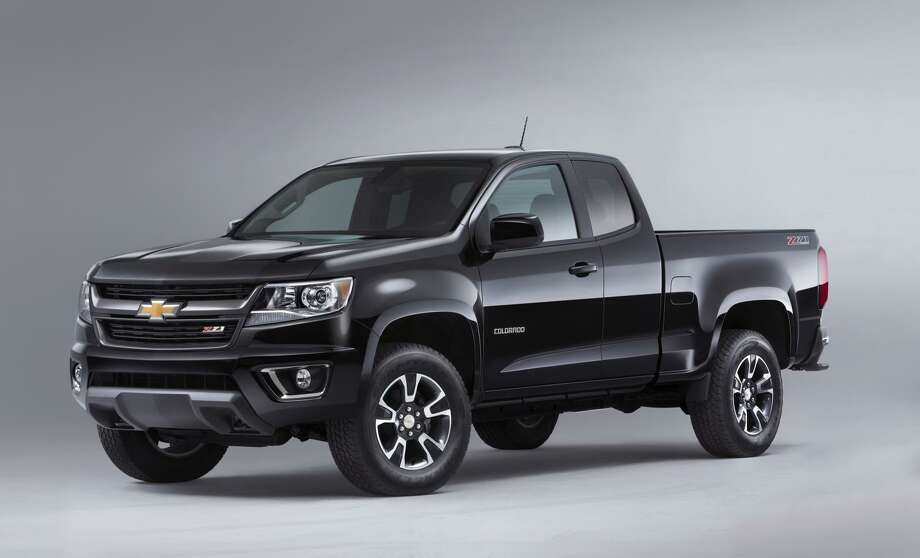 The 2015 Chevrolet Colorado Photo: Newspress USA