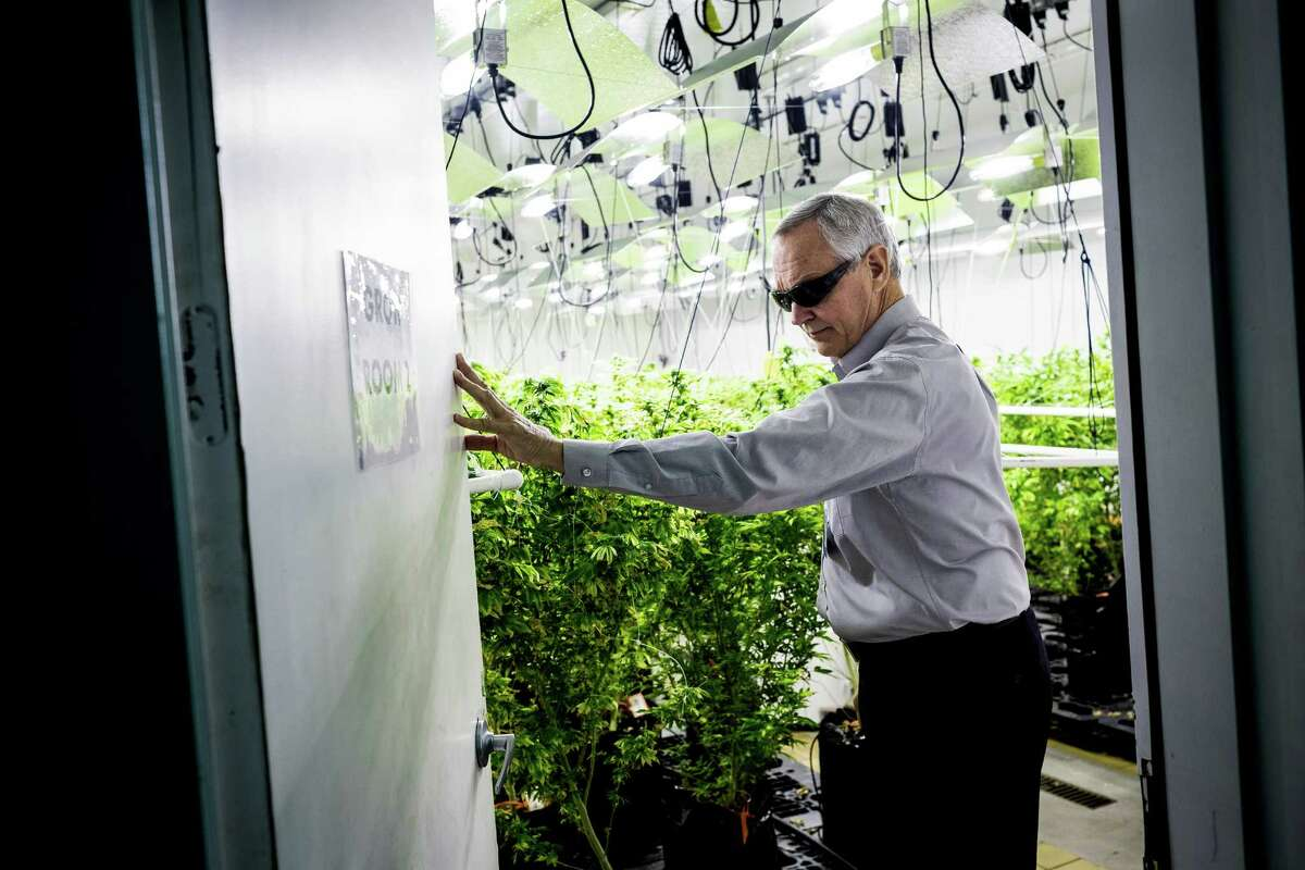 Patrick Devlin, one of three co-owning brothers responsible for Seattle-based Db3 Corporation, provides a look inside of their 25,000 square-foot facility Thursday, Aug. 7, 2014, in Seattle, Wash. Db3 was the first company in the state to produce and process marijuana-infused edible products, such as baked goods, chews, energy drinks and drink additives - all under the brand name