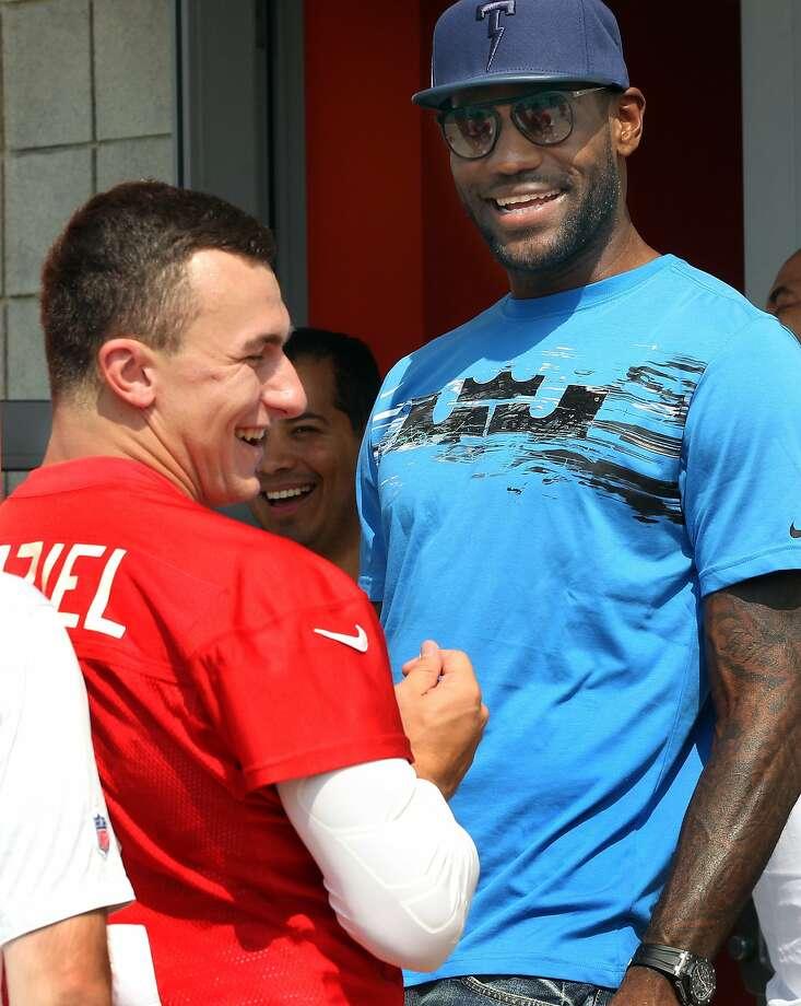 LeBron James Photo: Chuck Crow, Associated Press