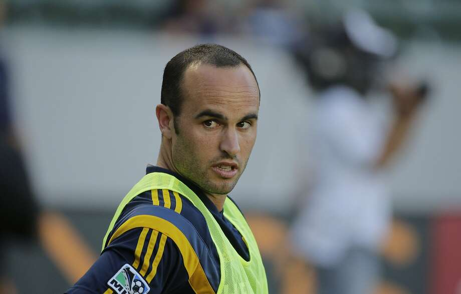 Landon Donovan won five MLS titles, two with the Quakes. Photo: Jae C. Hong, Associated Press