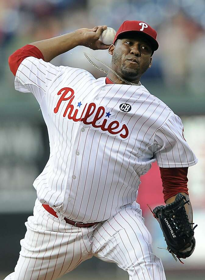Roberto Hernandez was 6-8 in his first season with the Phillies. Photo: Michael Perez, Associated Press