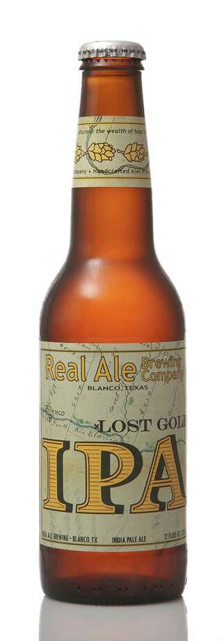Lost Gold IPA Brewery:Real Ale Brewing Co.  City: Blanco IBU: 62ABV: 6.6% Photo: Courtesy: Facebook