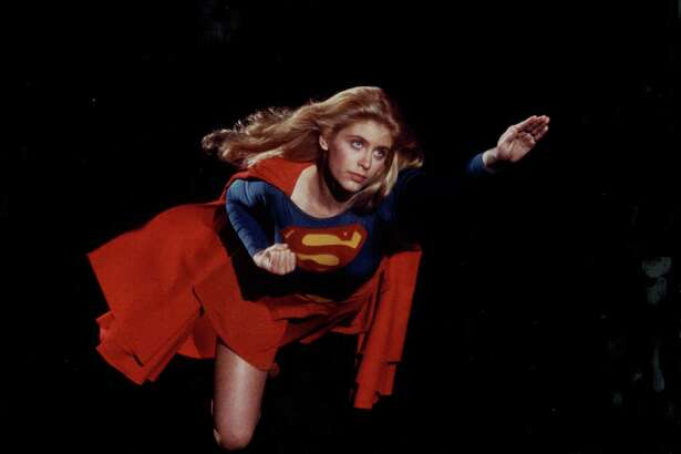 Promotional shot of actress Helen Slater as she appears in the movie 'Supergirl', 1984. (Photo by Stanley Bielecki Movie Collection/Getty Images)