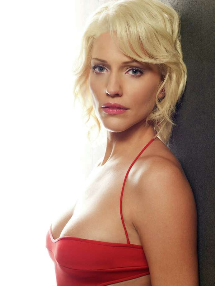 Tricia Helfer as Number SixBattlestar Galactica Photo: Syfy, Getty Images  / 2012 Syfy Media, LLC