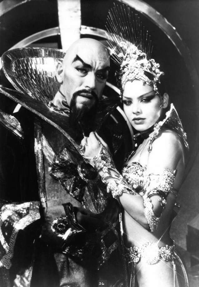 Ornella Muti as Princess Aura, (right)Flash Gordon Photo: Archive Photos, Getty Images  / 2012 Getty Images