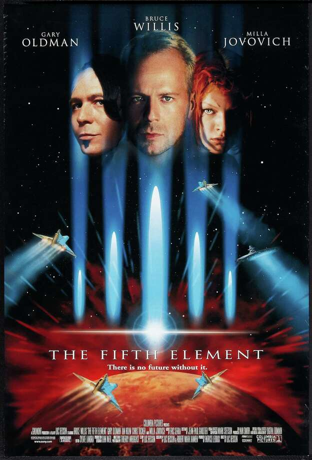 Milla Jovovich as Leeloo, (far right)The Fifth Element Photo: Buyenlarge, Getty Images  / Moviepix