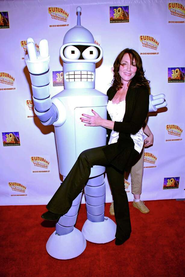 Katey Sagal as Leela, (right)Futurama Photo: Michael Tullberg, Getty Images  / 2007 Michael Tullberg