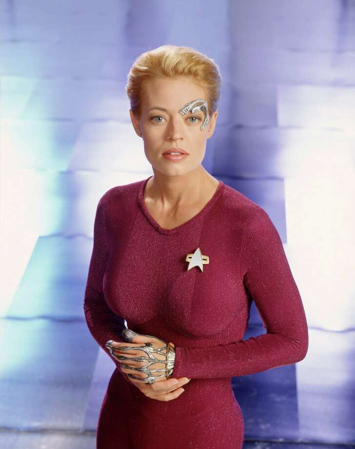 Jeri Ryan as Seven of NineStar Trek: Voyager Photo: Getty Images / Hulton Archive