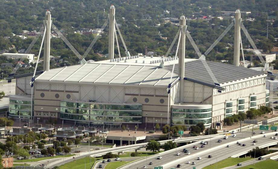 A renovation plan for the 21-year-old Alamodome will be presented to City Council later this month. The $50-million price tag includes new concession stands, three-story exterior concourses on the east and west sides, upgraded scoreboards and a North Plaza expansion. Photo: Express-News File Photo / © 2012 San Antonio Express-News