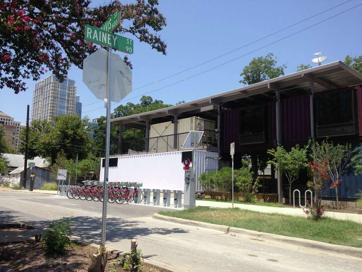 The bar opened in March and resides on Rainey Street, a historic district in Austin that's home to many bars.