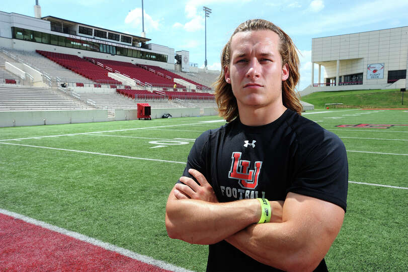 Lamar's Reid Entsminger will serve as Lamar's kicker for tis season. Entsminger's grandfather is the