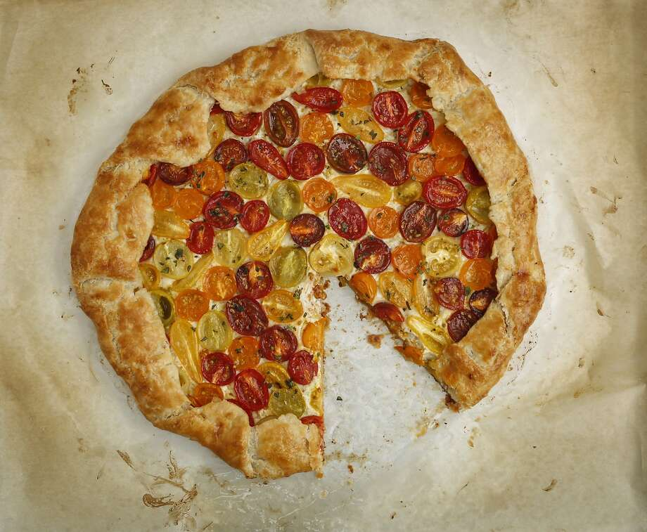 Cherry Tomato Galette Photo: Russell Yip, The Chronicle