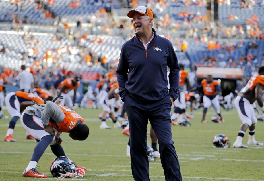 Denver Broncos head coach John Fox watches his team prior to an NFL preseason football game agains the Seattle Seahawks, Thursday, Aug. 7, 2014, in Denver. (AP Photo/Jack Dempsey) Photo: Jack Dempsey, AP